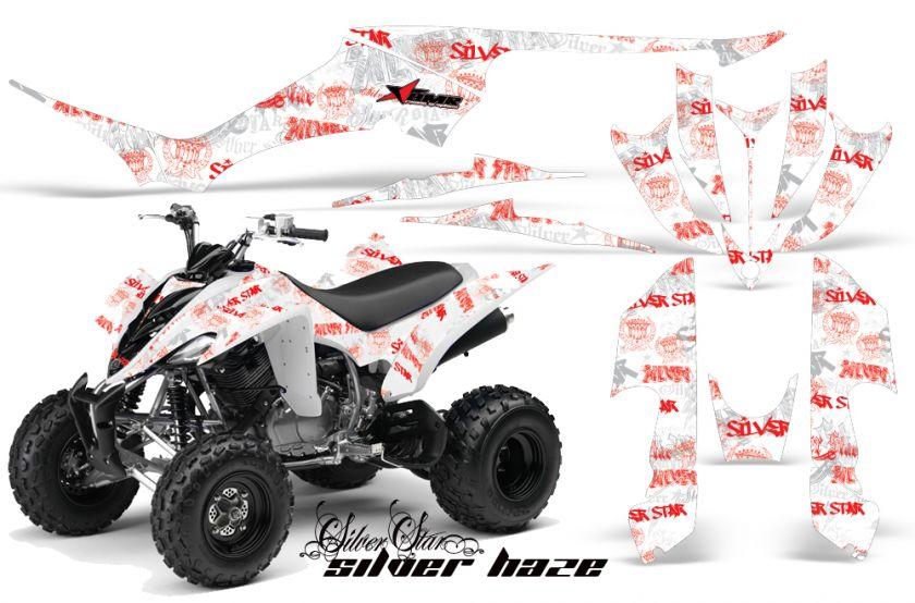 AMR RACING GRAPHICS KIT YAMAHA RAPTOR 350 QUAD STICKERS