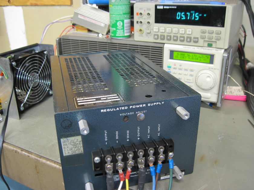 36V 10A Linear Power Supply PMC Power Mate Corp OEM 36 G OV Tested