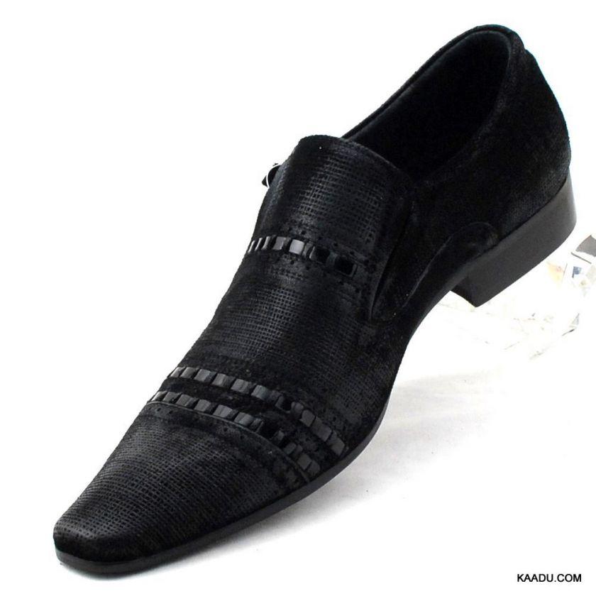 CK1141 Chris Kaadu Men Dress Comfort Shoe Loafer Black