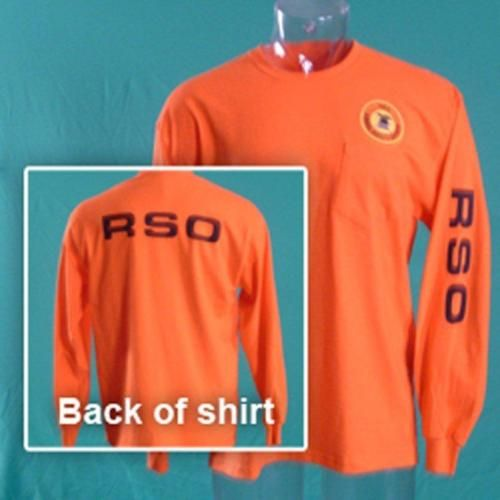 Nra Range Safety Officer Long Sleeve T Shirt L Xl 2xl